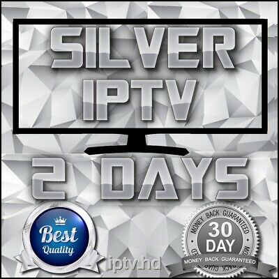 """IPTV SUBSCRIPTION"" 2 Days Silver IPTV for +18000 CH&VOD with full Support"