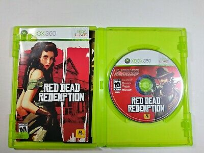 XBOX 360 RED DEAD REDEMPTION Game