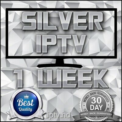 """IPTV SUBSCRIPTION"" 1 Week Silver IPTV for +18000 CH&VOD with full Support"