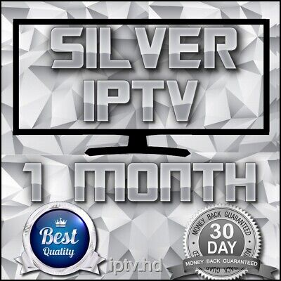 """IPTV SUBSCRIPTION"" 1 Month Silver IPTV for +18000 CH&VOD with full Support"