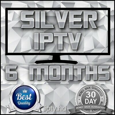 """IPTV SUBSCRIPTION"" 6 Months Silver IPTV for +18000 CH&VOD with full Support"