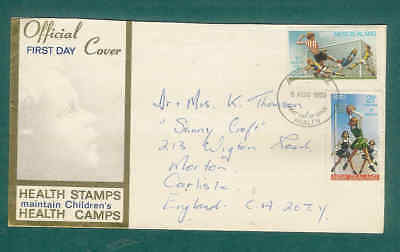 British Commonwealth NEW ZEALAND FDC Health Stamps 1970 F1