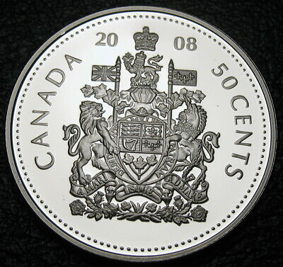 RCM - 2008 - 50-cents - 92.5% Silver - Proof - UHC - Uncirculated