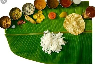 Fresh Banana Leaf / Leaves 75 pcs ** PRE -ORDER INDIA 9/10 Days Delivery Time
