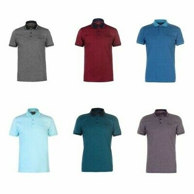 Pierre Cardin Fines Rayures Polo T-Shirt Hommes T-Shirt T-Shirt Occasionnel