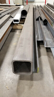 6 x 6 x 1/2 STEEL SQUARE TUBE 1PC 190 INCHES LONG - APPROX 558LBS