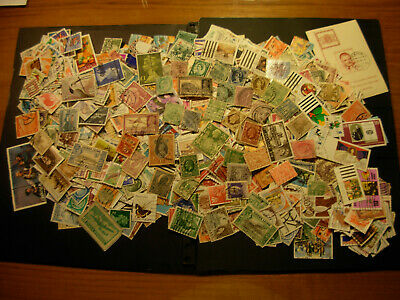 Used Lot Of 1000 Stamps Around The World,  Nice $$$  #f-11