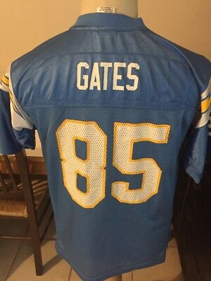 San Diego Chargers Antonio Gates Reebok NFL Football Jersey Youth Lg Los  Angeles d299c4f8b