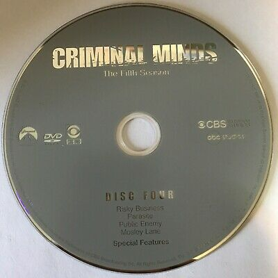 Criminal Minds Fifth Season 5 Five -  Disc 4 DVD Only - Free Shipping