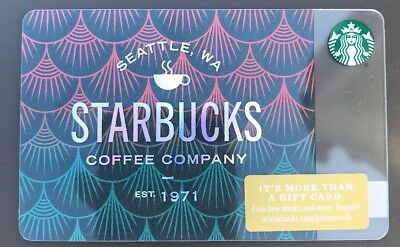Starbucks Gift Card 2018 NEW Siren Scales Coffee 1971 Holiday No $ Value
