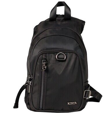 Tosca TCA903 RFID Blocking Anti-Theft Backpack Black