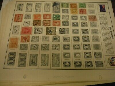 WPPhil New Zealand Country Stamps Accumulation Mostly Used Approx 300+ Total