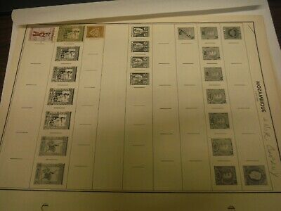 Mozambique Country Stamps Accumulation Mostly Used 80+ Total