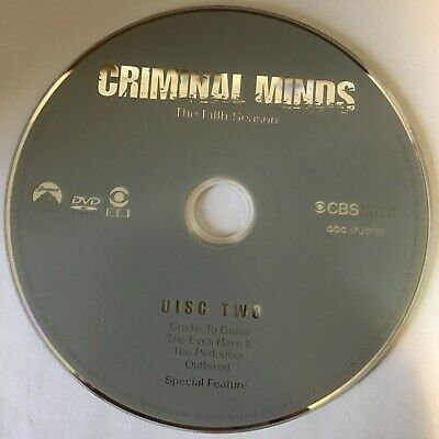 Criminal Minds Fifth Season 5 Five -  Disc 2 DVD Only - Free Shipping