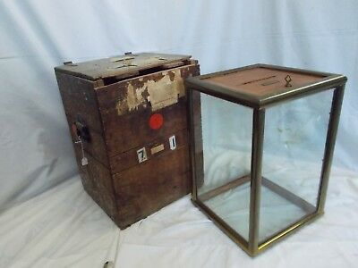 🎄 1800's~1900's ~ Taneytown Voter Ballot Box ~ Westminster Carroll County MD 🎄