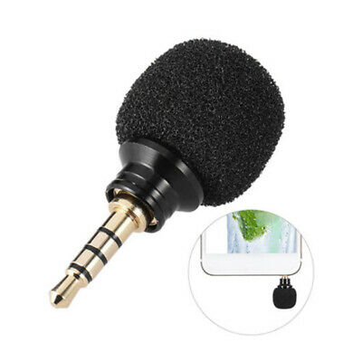 Mini Portable 3.5mm Stereo Voice Microphone Pro For Laptop Recorder Mobile-Phone