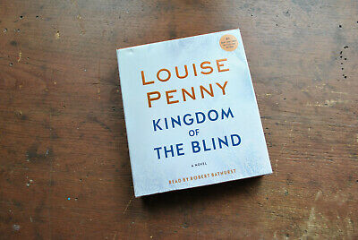 KINGDOM OF THE BLIND by, LOUISE PENNY 10 DISC AUDIOBOOK CD # 14 IN THE SERIES