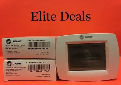 New!!! OEM Trane TCONT800AS11AAA XL800 1H/1C Touchscreen Thermostat