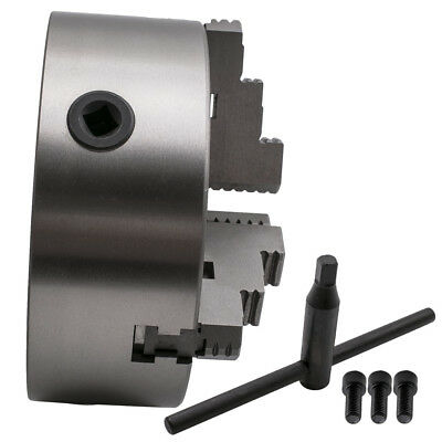 """8"""" 3 Jaw Self-Centering Lathe Chuck for Milling Internal Grinding K11-200A"""