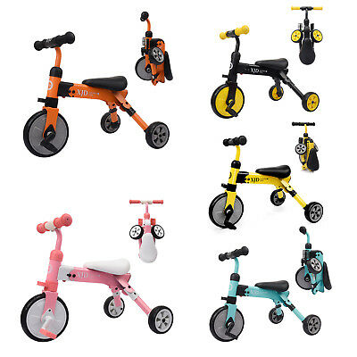 2 In 1 Trike Baby Balance Bike Foldable Kids Riding Toys for Boys or Girls