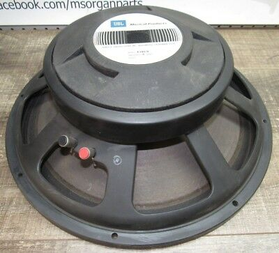 "Vintage JBL Model E140-8 15"" Speaker 8 ohm"