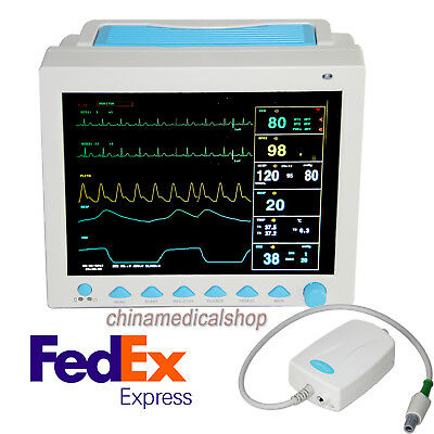Patient Monitor With ETCO2 Capnograph Multi-parameters Vital Signs Monitor FDA