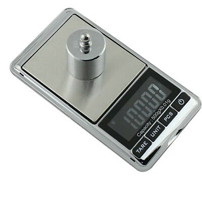 New 500g 0.01 DIGITAL POCKET SCALES JEWELLERY ELECTRONIC 10 Milligram Micro mg