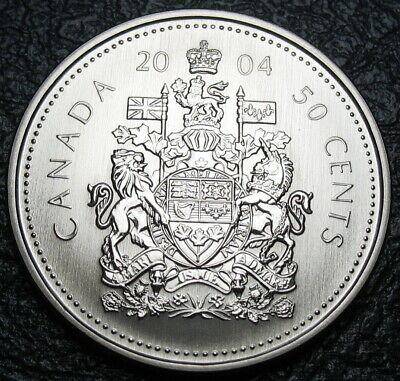 RCM - 2004-p - 50-cents - Coat of Arms - Specimen - Uncirculated