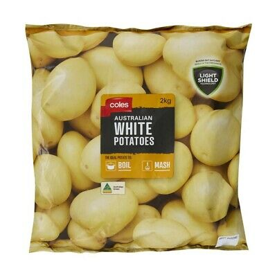 Coles Washed Potatoes Prepacked 2kg