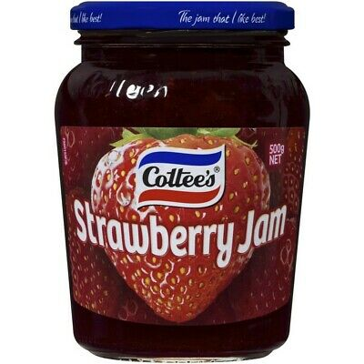 Cottee's Strawberry Jam 500g