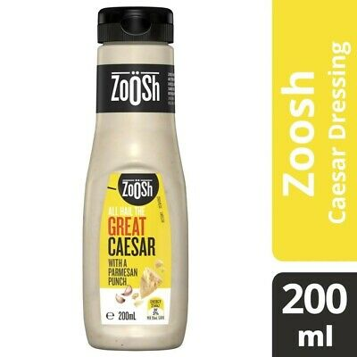 Zoosh Caesar Salad Dressing 200 ml