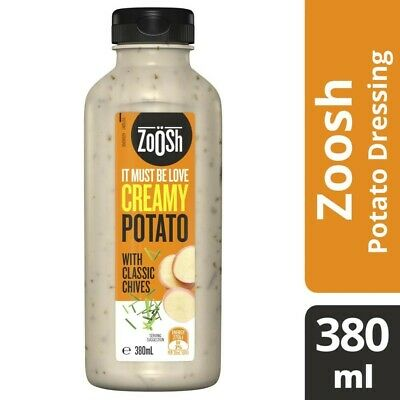 Zoosh Creamy Potato With Classic Chives Dressing 380mL