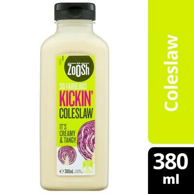 Zoosh Kickin Coleslaw Dressing 380mL