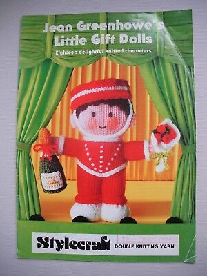 Jean Greenhowes - Little Gift Dolls - Toy Knitting Pattern Book