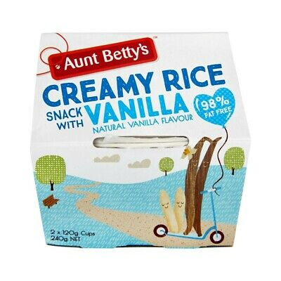 Aunt Betty's Creamy Rice Snack With Vanilla 240g