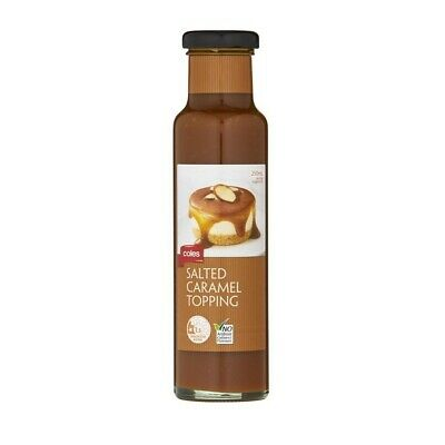 Coles Salted Caramel Dessert Topping 250 ml