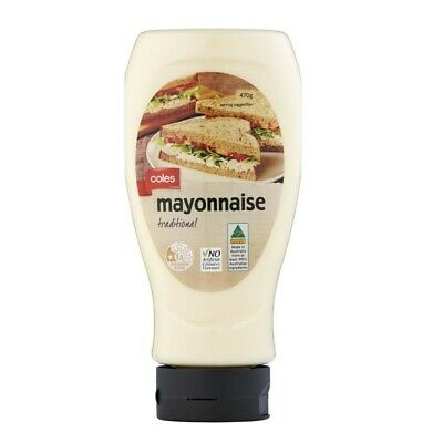 Coles Traditional Mayonnaise 470g