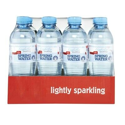 Coles Lightly Sparkling Spring Water 500mL 12pk