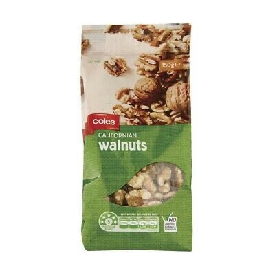Coles Californian Walnuts 150 gram