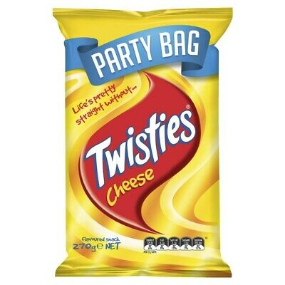 Smith's Twisties Cheese Party Bag 270 gram