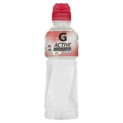 G Active Berry Flavoured Electrolyte Water 600mL