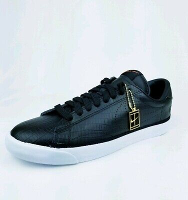 finest selection 84138 6f5a3 Nike Air Zoom Tennis Classic AC Fragment Shoes Black Leather 857953-001 Sz  11