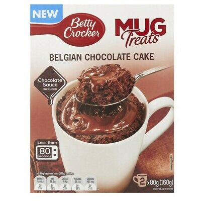 Betty Crocker Mug Treats Belgian Chocolate Cake 160 gram