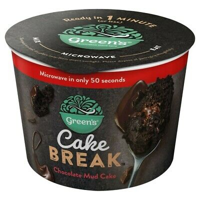 Green's Cake Break Chocolate Mud Cake 60g
