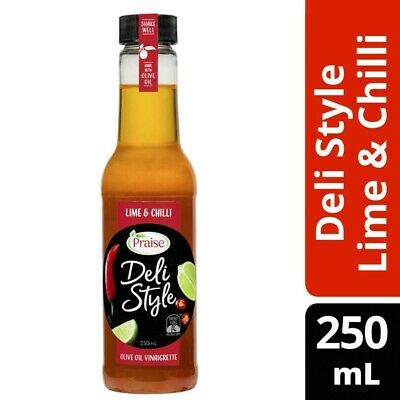 Praise Deli Style Lime & Chilli Vinaigrette 250mL