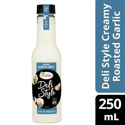 Praise Deli Style Creamy Garlic Dressing 250mL