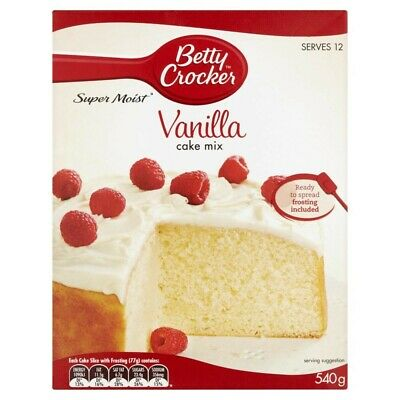 Betty Crocker Vanilla Cake Mix 540g