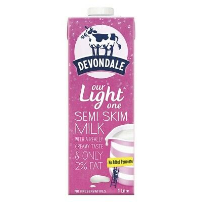 Devondale Semi Skim Long Life Milk 1L