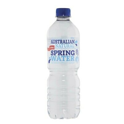 Coles Natural Spring Water 600mL