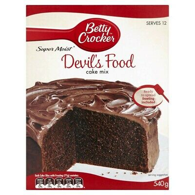 Betty Crocker Devil's Food Cake Mix 540g